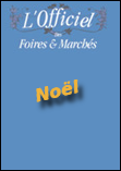 Couverture édition papier de l'Officiel des foires et marchés de Noël