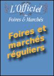 Couverture édition papier de l'Officiel des foires et marchés réguliers